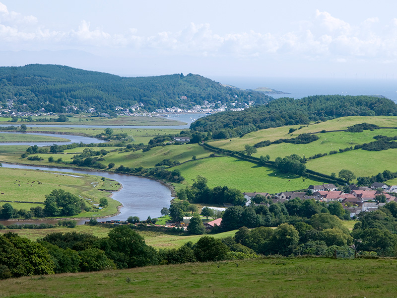 View to Kippford